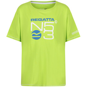Regatta Bosley T-Shirt Kids Lime Zest
